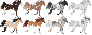 Horse Adopts Batch 18 [OPEN] by KCNM45875