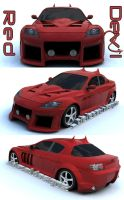 ICC Custom Mazda RX-8 by Import-Car-Club