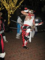 Killer Bee - Seven Swords Dance by kakashi-shishio