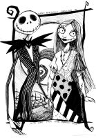 Jack and Sally by tifachan