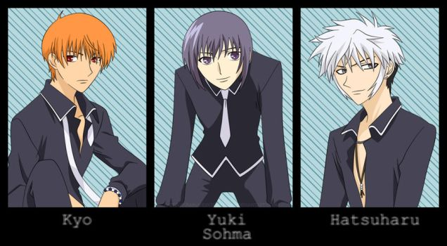 Sohma Boys :vector: by SasukeRoxMySox2