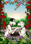 Pongo and Perdita by Mareishon