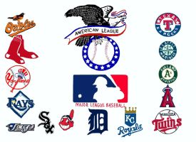 American League Teams by NY-Disney-fan1955