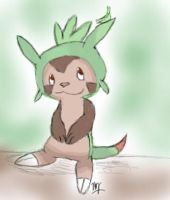 Chespin by Bluebird9209