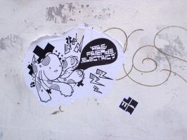 Four Arms - Paste Up by Jawa-Tron
