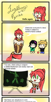 Fighting with Pyrrha 1 by LeonardoFRei
