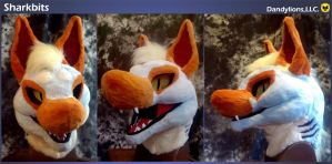 Sharkbits Head by DandylionsLLC