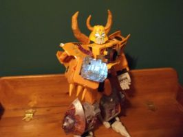 White customized unicron transformer!!!! by alx333