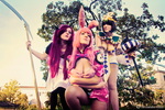 Girls From Hell 3 - Queen's Blade by GloomyElls