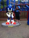 Me at Sonic Spinball in Alton, UK by Sonaze-fangirl