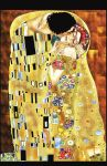 Appropriation of Klimnt's Kiss by RCopeland-AiijuinArt