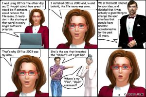 Office 2003 was My Idea by JHoagland