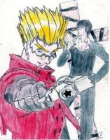 VASH THE STAMPEDE by IrrelevantTheme