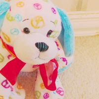 Webkinz Peace Puppy by xWebkinzxPhotox