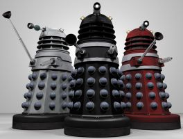 The Invasion of the Daleks! by Librarian-bot