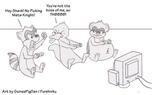 Video Game Squabbling by GuineaPigDan
