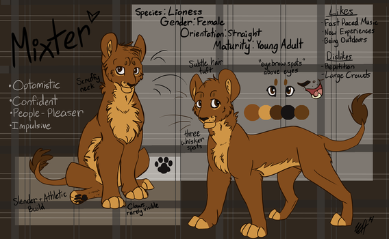 Mixter Reference Sheet 2014 by Megamixter