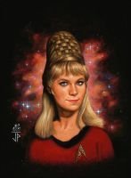 Woman of Star Trek Janice RAND by Melanarus