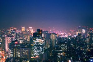 lights of tokyo by vanerich
