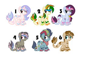 Rainbow Snapion adopts #3 [CLOSED] by Icicle212