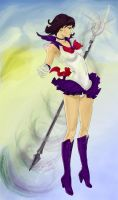 Sailor Saturn Fullbody by Milkymilla
