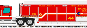 Acre County Fire Dept. Hazmat 44 by MisterPSYCHOPATH3001
