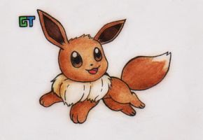 #133 - Eevee by GTS257-CT