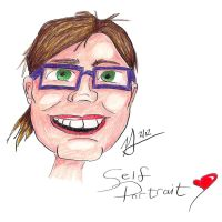 Self Portrait Caricature by ShifuYaku
