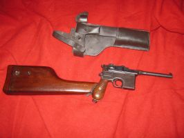 C96 Broom handled Mauser by vonmeer