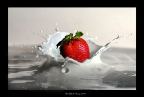 Strawberry Milkshake II by MichelleRamey