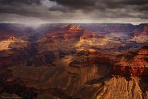The Golden Storm by matthieu-parmentier