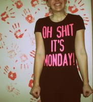 hate mondays by littlemisspiano