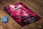 Hookah Flyer Template by Grandelelo