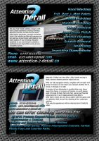 Attention 2 Detail Flyers by Genesis2Revolution