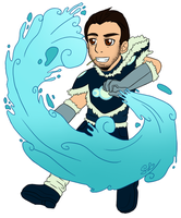 Chibi Commission: TRALLT (HighwindDesign) by ColorMyMemory