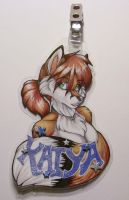 Kaiya Badge by wielderofthewind