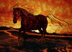 Hell Horse V2 by PeacefulSeraph