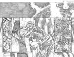 Justice League 23.1 Darkseid pages 12 and 13 by PauloSiqueira
