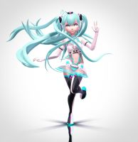 Racing Miku by Sithlord43