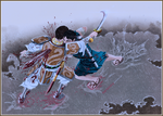 Shin (Xin) Kills Rinko (Lun Hu)! Kingdom Manga 230 by MarHutchy