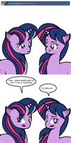 Ask Twixie Tumblr Notice #2 by Dekomaru