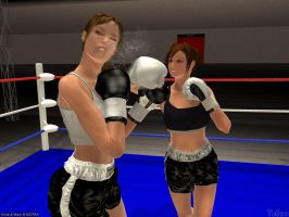 Gift for MCPBA- Anne vs Mary 2 by Tetsuo72