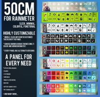 50CM for Rainmeter by Dariosuper