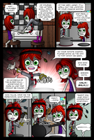 Chelsea and Millie: Lucky Socks 02 by JimmyMisanthrope