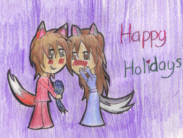 Axxie's Holiday Gift by JouYasha