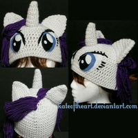 Rarity Hat by KateoftheArt