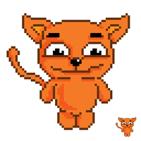 Pixel Cat by Starstew