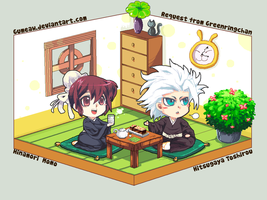 hitsugaya_hinamori_request by gumeaw