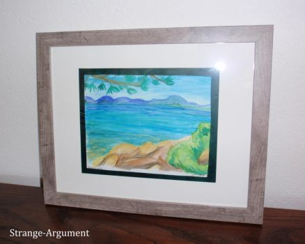 Zephyr Point Watercolor by Strange-Argument