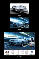 Geely car AD by SNOBS